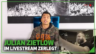 Julian Zietlow im Livestream zerlegt 😱 Droht Klage? + Reaction auf Julians Video | Matthias Clemens