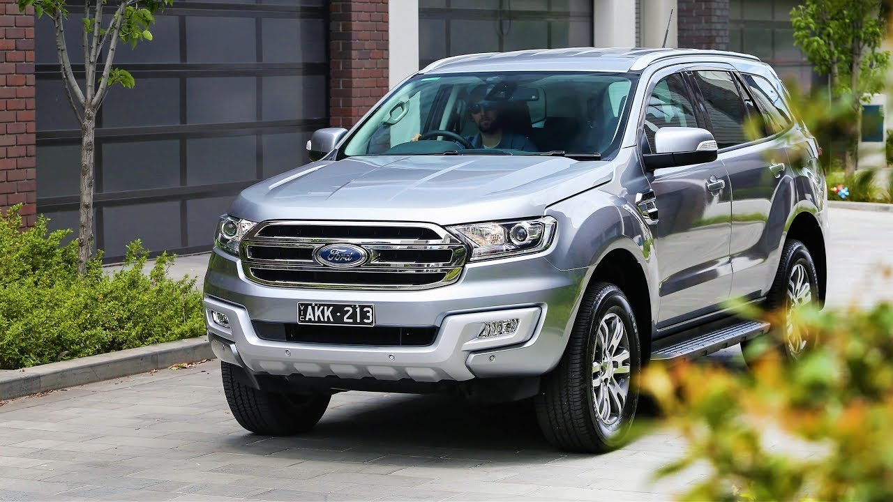 NEW 2019 FORD EVEREST Facelift