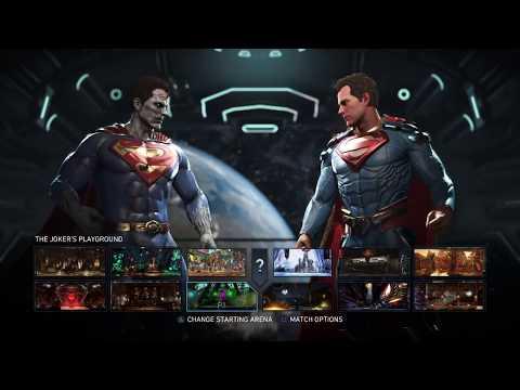 Injustice 2 Bizarro VS Superman Single Fight