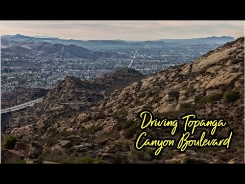 Los Angeles Street Tour: Topanga Canyon Blvd and PCH