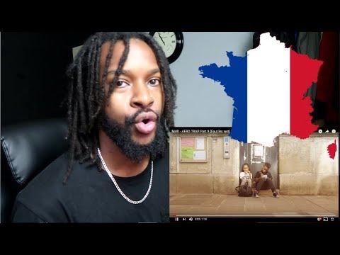 MHD - AFRO TRAP Part.9 (Faut les wet) - U.K reaction to French Rap/trap