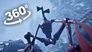 SIREN HEAD 360 Roller Coaster VR Ride Part 1