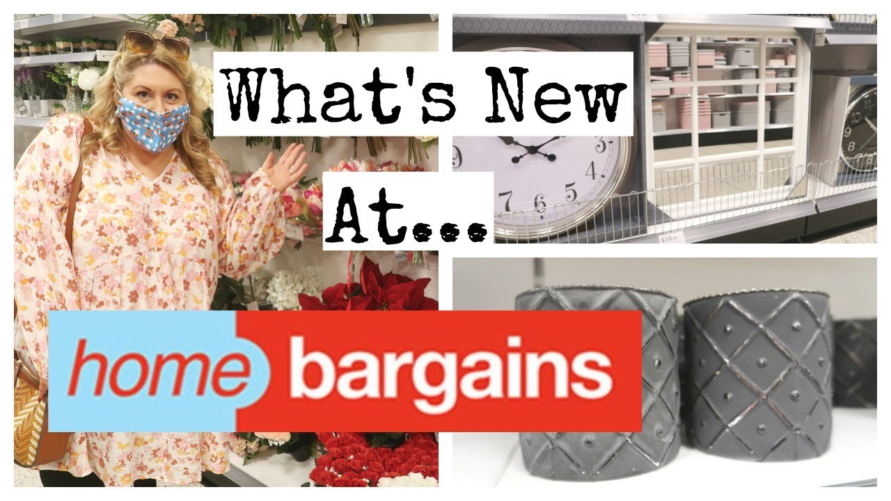 *WHATS NEW*  AT HOME BARGAINS / COME SHOP WITH ME