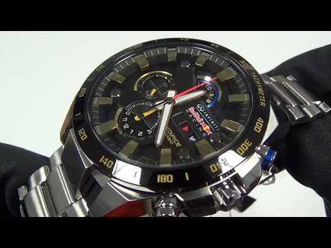 aecf7c3fd77a Casio - Edifice Red Bull EFR-540RB-1AER - YouTube
