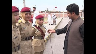 A detail report about  Mardan girls cadet college 3rd annual day function reporter  malik ismail