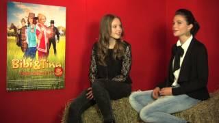 Bibi & Tina 2 - Interview Lisa-Marie Koroll und Lina Larissa Strahl VOLL HERHEXT