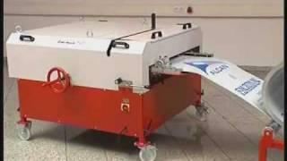 видео Оборудование для производства металлочерепицы и технология ее изготовления  на заводе
