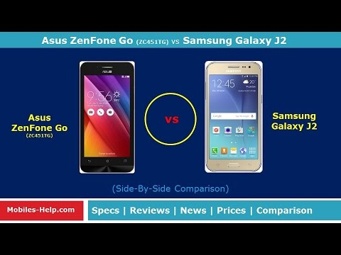 Asus Zenfone  Go (ZC451TG) vs Samsung Galaxy J2 - Which is Better?