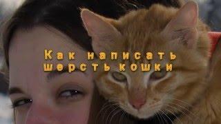 Как написать шерсть кошки. Мастер-класс Татьяны Казаковой в режиме он-лайн