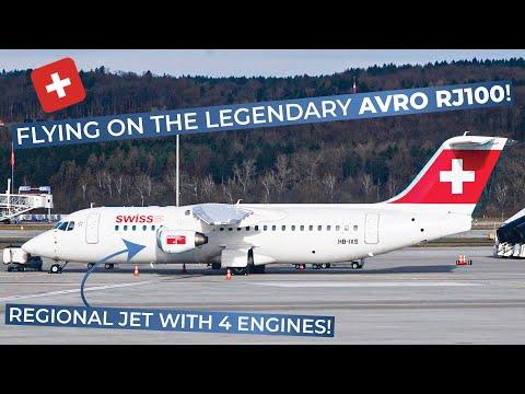 TRIPREPORT | Swiss (BUSINESS CLASS) | Avro RJ-100 | Zurich - Vienna