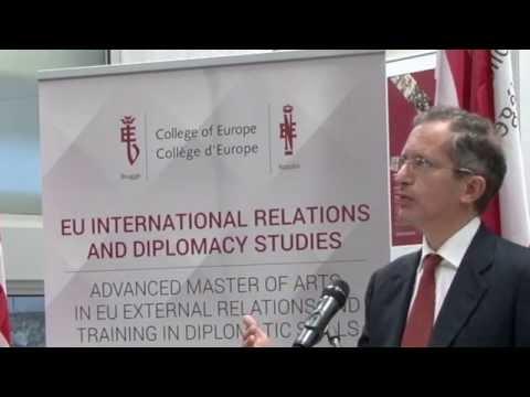 Ambassador Gardner at the College of Europe in Bruges