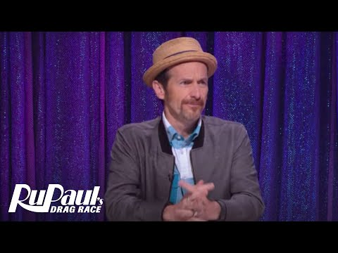 Snatch Game with Denis O'Hare & Candis Cayne!  RuPaul's Drag Race Season 9  VH1