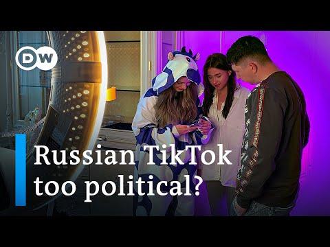 Russia: Kremlin targets TikTok over content critical of Putin | DW News