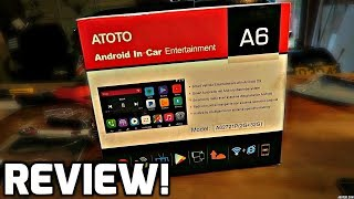 Atoto A6 Android Head Unit (Install + Review)