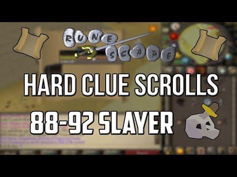 [2007] RuneScape - Hard Clue Scrolls 88-92 Slayer