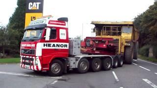 Heanor Heavy Haulage And Cat 777B Dumptruck
