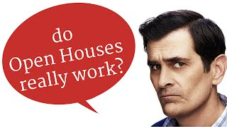 Do open houses REALLY work? Find out the truth in under three minutes...
