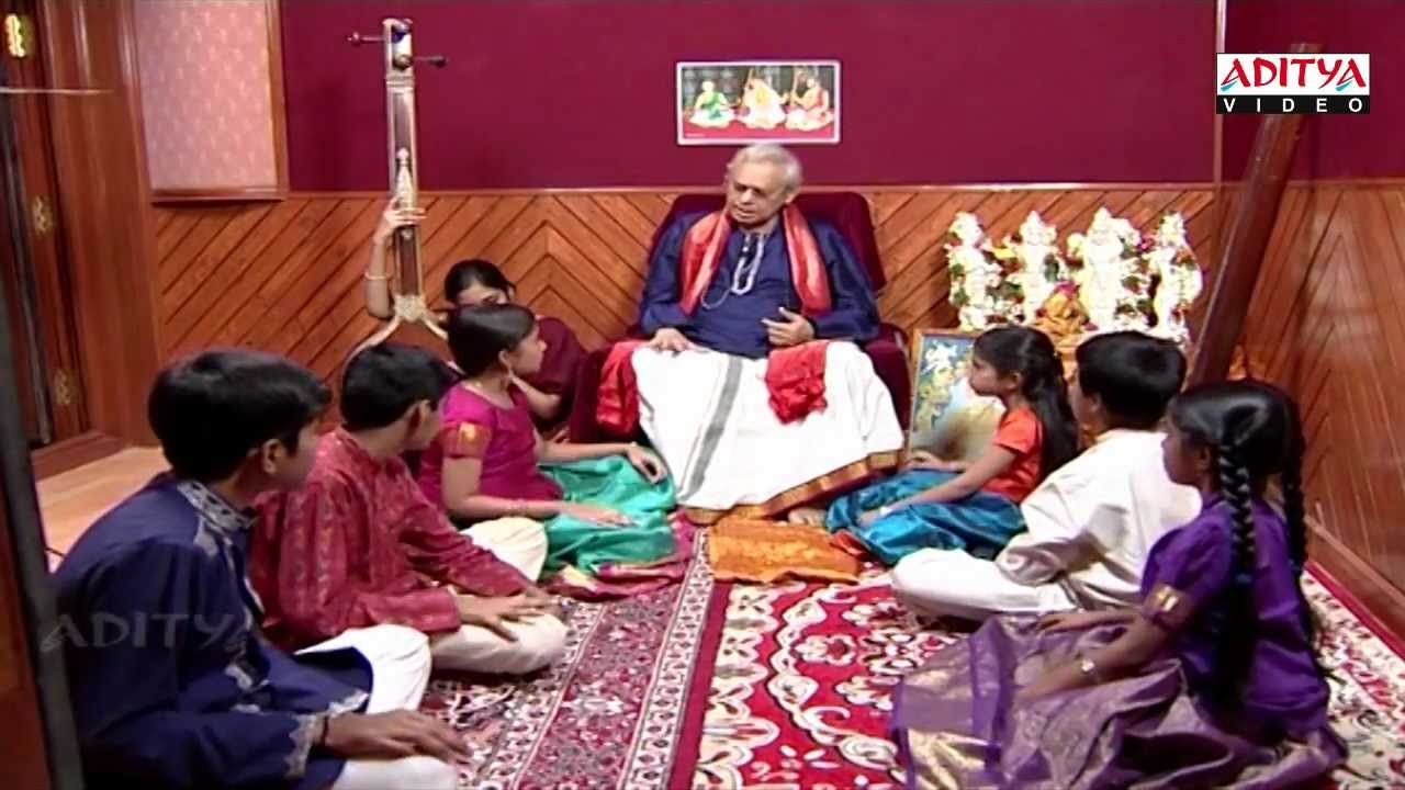 Indian classical music Lessons By Dr. Nookala China Sathyanarayana - part 4