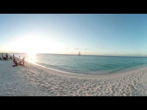 360° Video view of Eagle Beach Aruba