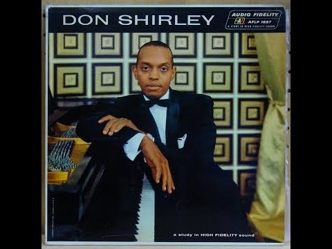 The REAL Don Shirley - GREEN BOOK - extremely RARE live concert footage. THE MAN I LOVE.