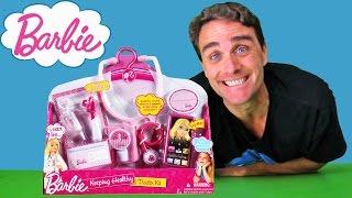 Barbie Keeping Healthy Doctor Kit !  || Toy Review || Konas2002