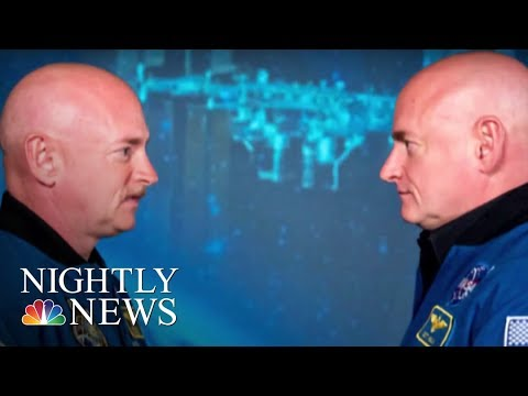 Astronaut's DNA Different Than His Twin's After Year In Space   NBC Nightly News