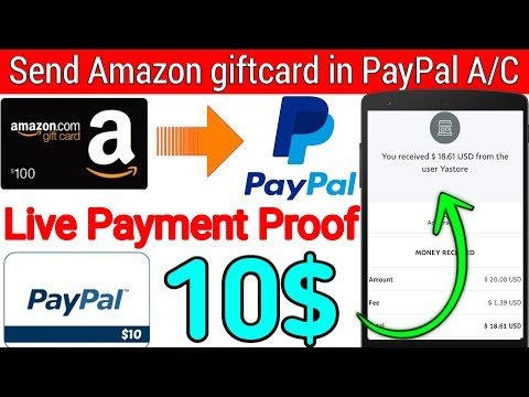 💥Earn 25$ In 2days Live Payment Proof || Send Amazon Giftcard In PayPal Account ||