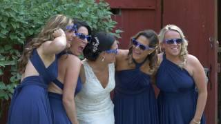 Michele and Maicon's Wedding Preview at Falkirk Estate in Central Valley, NY