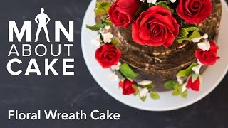 (man about) Floral Wreath Cakes | Man About Cake EPISODE 1 with Joshua John Russell