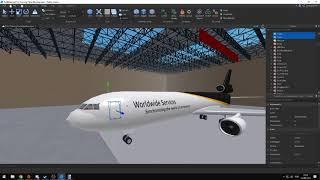 ROBLOX Douglas MD11 Cargo