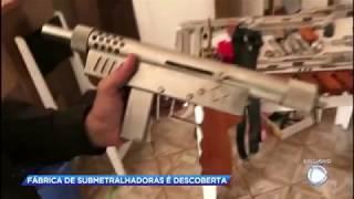 Polícia descobre fábrica clandestina de armas em Ferraz de Vasconcelos (SP) thumbnail