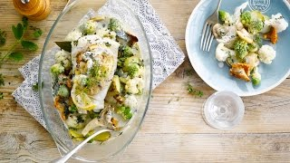 Alpro Recipe - Cod In A Sea Of Vegetables