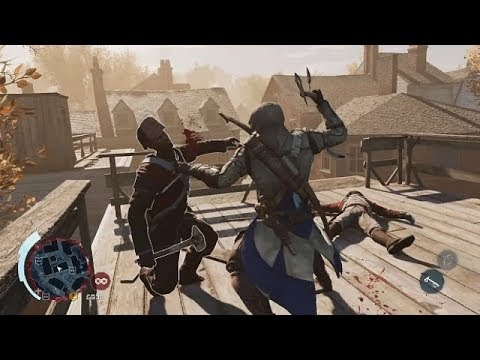Assassin S Creed 3 Remstered Master Connor Free Roam Combat