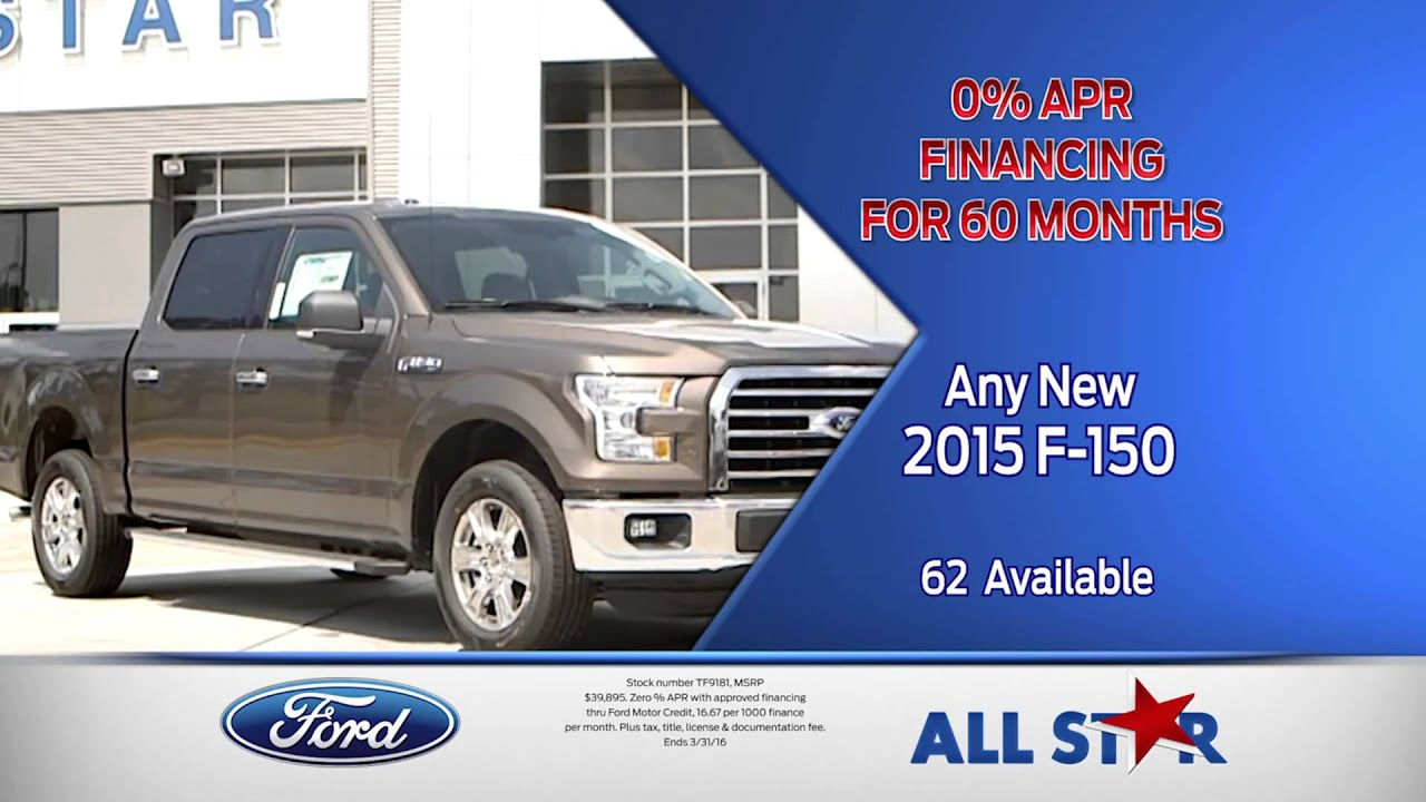 All Star Ford March Tv Commercial Truck Month Youtube
