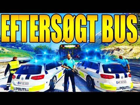 STOR BILJAGT MED EFTERSØGT BUS - NYT LSPDFR 0.4 - GTA 5 DANSK - LSPD:FR DANSK POLITI [#112] thumbnail