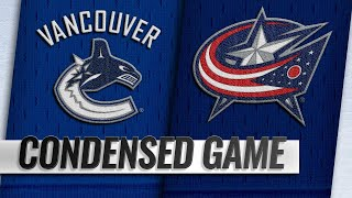 12/11/18 Condensed Game: Canucks @ Blue Jackets