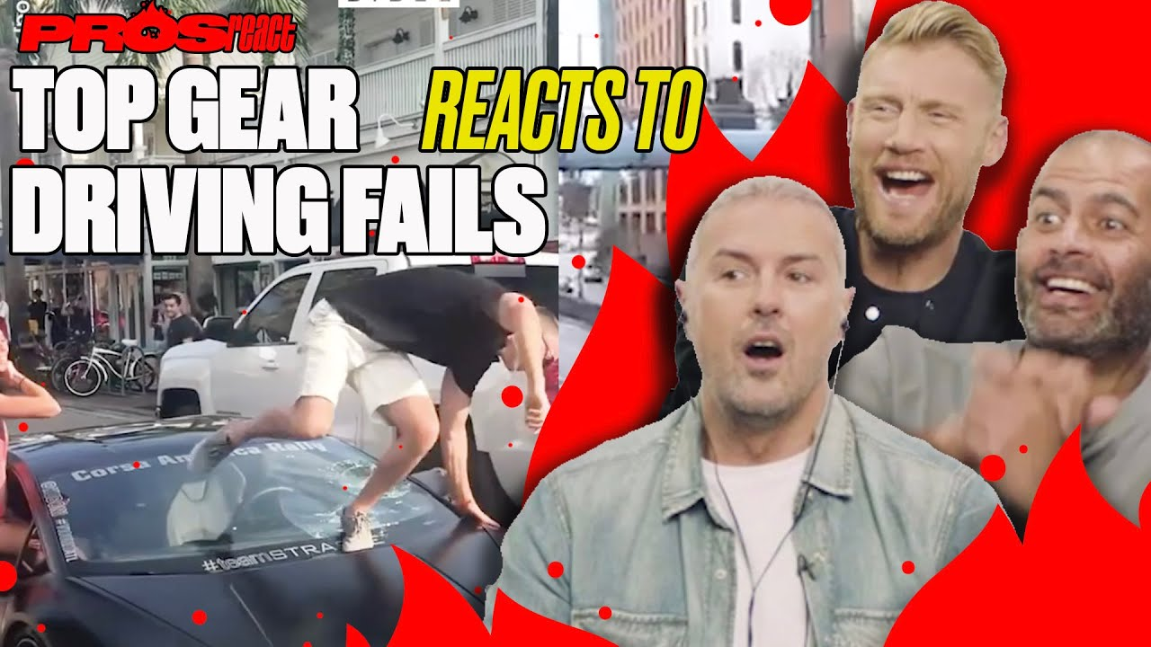 Top Gear Reacts To Driving FAILS | Pros React | LADbible