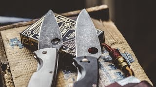 Customize Your KNIFE - How to Acid Etch and Stone Wash Knives - It's Sooo EASY