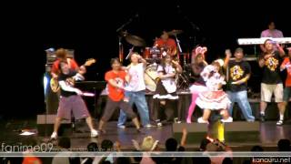 Momoi Halko's Live Performance at the Fanime 2009 lawl at the perso...