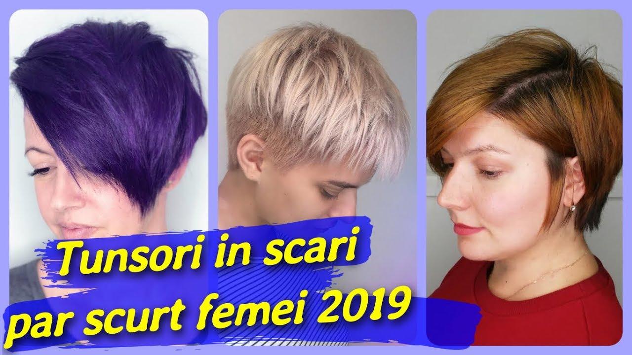 Top 20 De Tunsori In Scari Par Scurt Femei 2019 Youtubedownloadpro