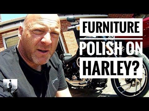 How often should I clean my Harley Using Furniture Polish