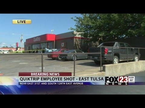 VIDEO: QT employee shot in east Tulsa