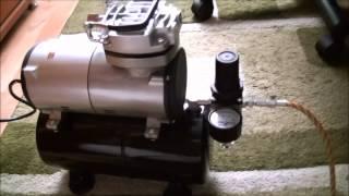 as 186 mini air compressor unboxing