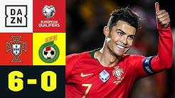 Ronaldo mit Dreierpack, Torpremiere für Paciencia: Portugal - Litauen 6:0 | EM-Quali | DAZN