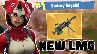NEW TRICERA OPS SKIN + LMG! - Fortnite Battle Royale