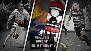 Tacoma Stars vs Ontario Fury