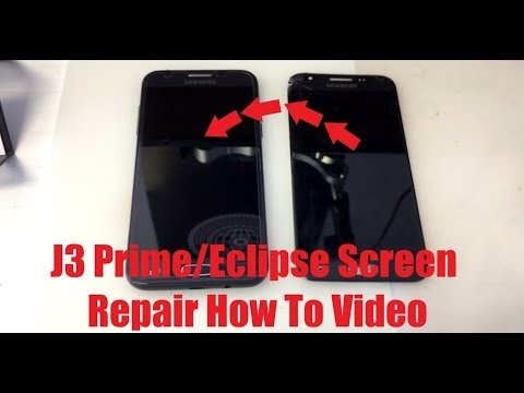 J3 Prime How To J327 Samsung J3 Prime Eclipse Amp 2 Express 2 Emerge Prime Screen Replacement/Repair