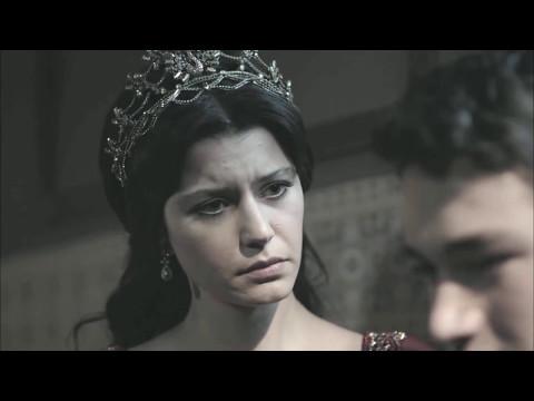 Великолепный век: Империя Кесем. Осман и Кесем на могиле Мехмеда.