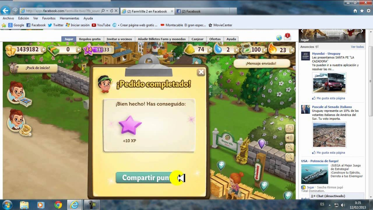 Farmville 2 Link