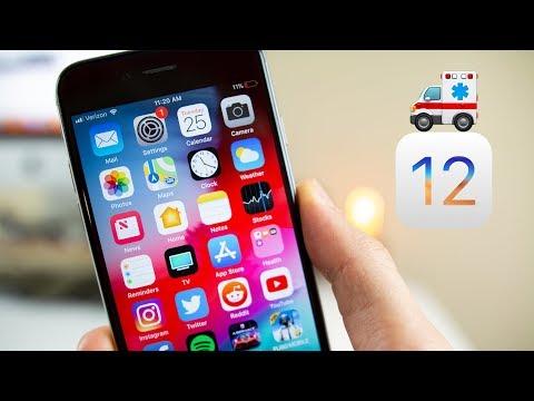 iOS 12 saved my iPhone 6..